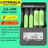 Liitokala Lii-500 Lii-500S 18650 batterie chargeur 21700 26650 AA AAA pour 18350 18500 16340 17500 25500 10440 lifepo4 cartes de circuits imprimés