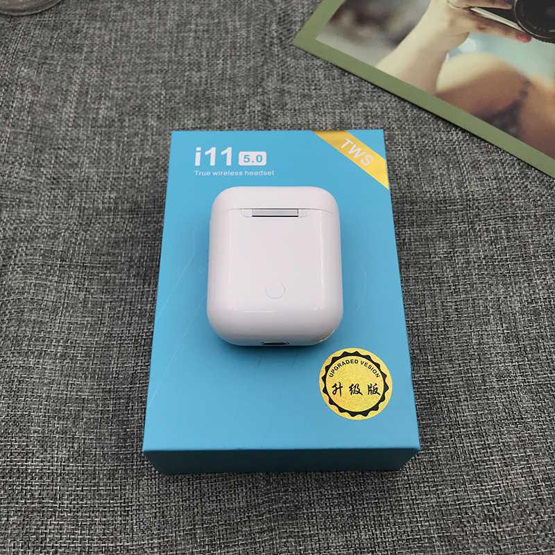 I11 TWS Bluetooth 5.0 イヤホン i9S ダブル通話スマートタッチ Iphone Pk I7s i8 I10 i100 イヤホンインナーイヤーヘッドホン