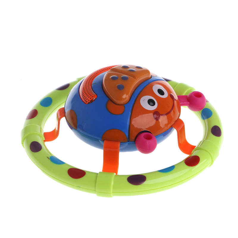 Cute Baby Toys With Sound And Light Ladybug Musical Children Gift For Kids Y4QA