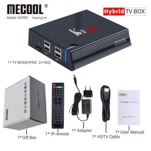 Image 5 - MECOOL KII PRO Android 7.1 Boîte de TÉLÉVISION intelligente DVB S2 DVB T2 2 GO + 16 GO 4K lecteur Multimédia Wifi Double Support CCCAM Clines Décodeur