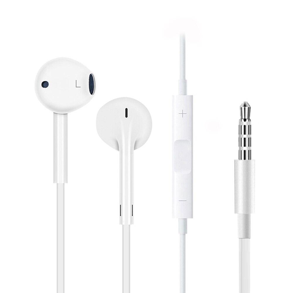 オリジナルアップル Earpods 3.5 ミリメートルプラグ有線インイヤーイヤホンインナーイヤー型深い豊か Iphone の Android スマートフォン通話スポーツ|apple earpods|original apple earpodsoriginal earpod - AliExpress