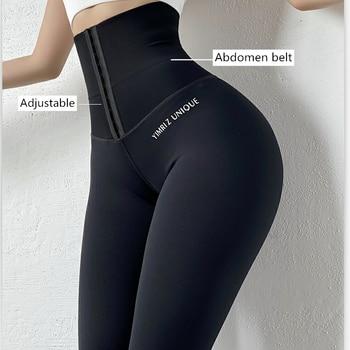 High Waist  Women Legging  Push Up Fitness Leggings Plus Size Body shaper Corset Slim High Elastic Leggings Sportswear Femme 3XL 1