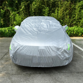 1 Pcs Universal SUV/Sedan Full Car Covers Outdoor Waterproof Sun Rain Snow Protection UV Car Silver S-XXL Auto Case Cover car covers size s m l xl waterproof full car cover sun uv snow dust rain resistant protection gray free shipping