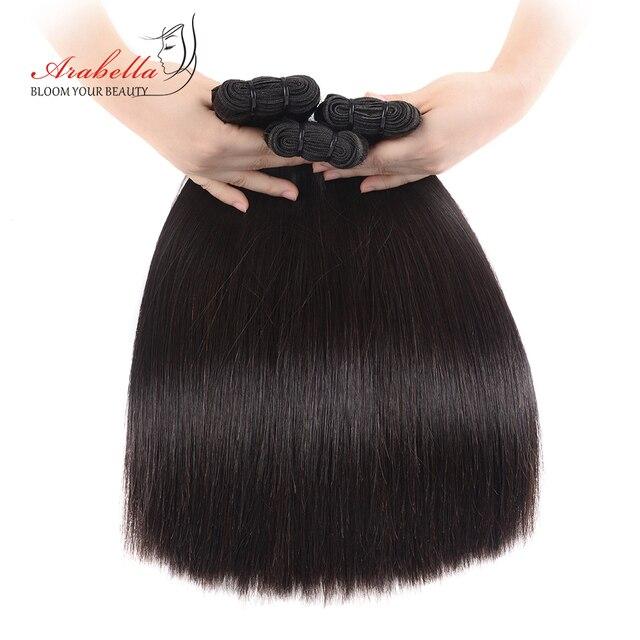 כפול נמשך ישר שיער Weave חבילות Vrigin הארכת שיער טבעי צבע עבה מסתיים שיער חבילות עבור לקוחות ברמה גבוהה