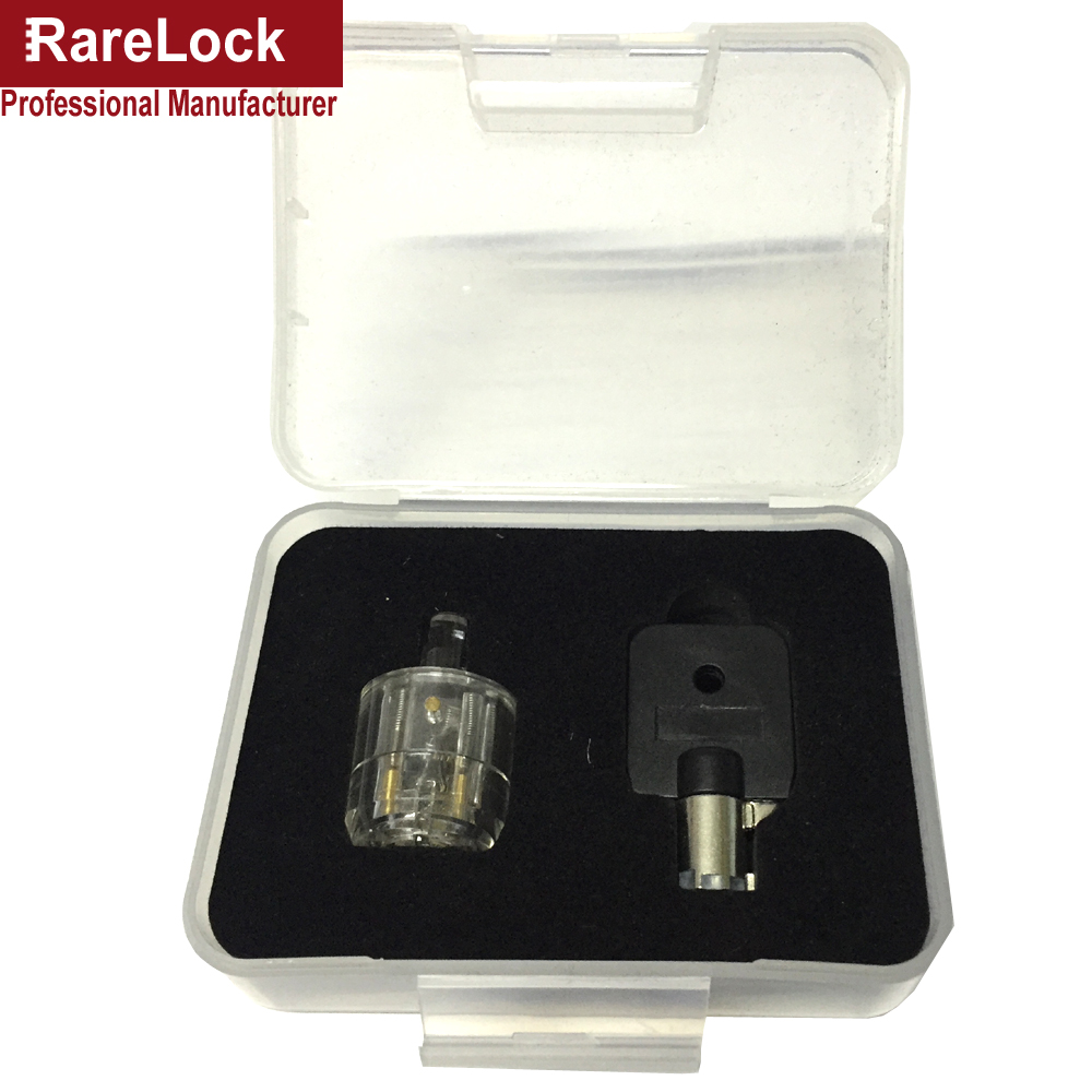 Rarelock Serrurier Outil Transparent Tubulaire Serrure Pratique 7 - Outillage à main - Photo 3