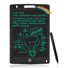 Lcd Writing Tablet 8.5 Inch Electronic Drawing Graffiti Colorful Screen  Handwriting Pads Drawing Pad Memo Boards for Kids Adult
