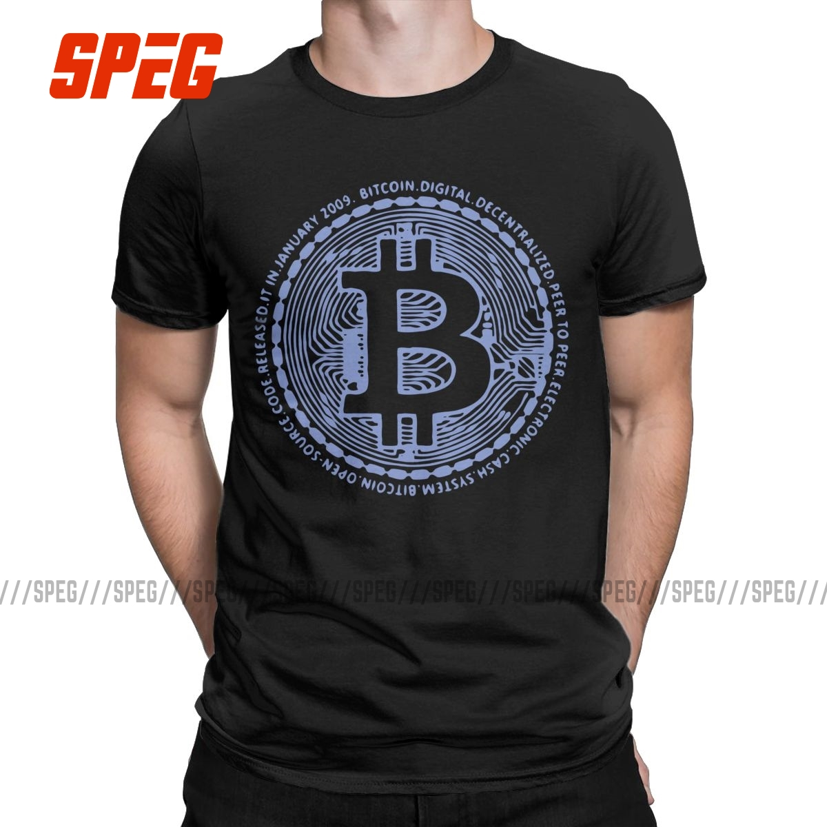 Bitcoin Billionaires Crypto Currency Men T Shirts Amazing Tees Short Sleeve Crew Neck T-Shirts 100% Cotton Printed Clothing 1