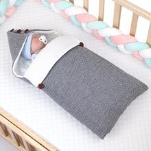 2019 New Arrival Baby Sleeping Bag Baby Swaddle Wrap Blanket Sleepsacks Thickened Sleeping Bag Newborns Bedding Quilt недорого