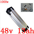48V 13AH 15AH 36V 13AH 15AH 20AH elektrische fahrrad batterie 36V 48V lithium ionen batterie fit 500W 750W 1000W Ebike motor freies duty-in Elektrofahrrad Akku aus Sport und Unterhaltung bei