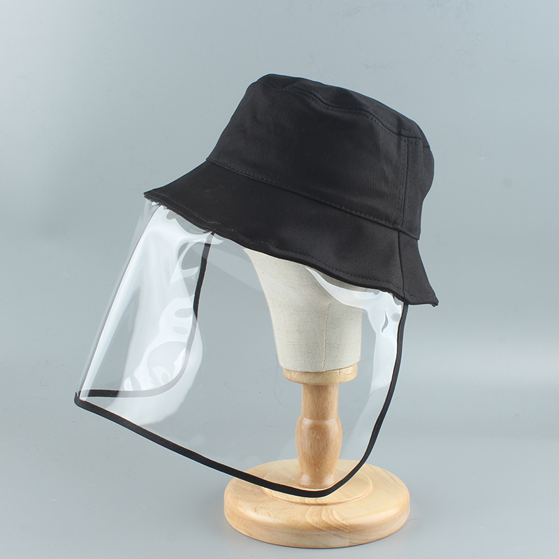 2020 New Anti-fog Hats Men Women Dust Protection Bucket Hat Female Outdoor Travel UV Protect Fisherman Hats Detachable Sun Caps
