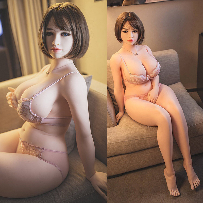 NEW <font><b>162CM</b></font> 117# Real Silicone <font><b>Sex</b></font> <font><b>Dolls</b></font> Big Boobs Adult Vagina Anus Oral Love <font><b>Doll</b></font> for Men Realistic Pussy Sexy Toy image