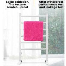 Stainless Steel Electric Heated Towel Rack Towel Warmer Rail Waterproof Wall Mounted Towel Holder Rail Bathroom Towel Dryer