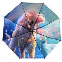 Bag Bargains Chinese Zodiac Umbrella Ultra strength UV Protection Parasol Rain Or Shine Dual Purpose Umbrella xue sheng san|  -
