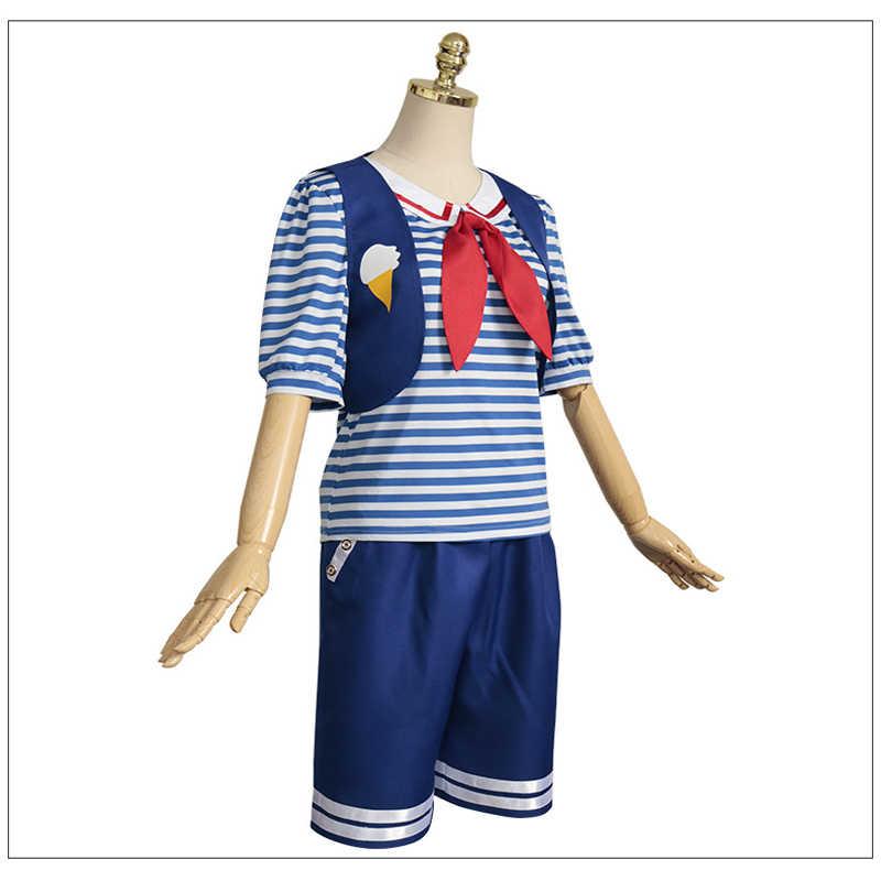 Uno sconosciuto Le Cose Marine Gelato Uomo di Halloween Cosplay Costumi Per Adulti Dramma Perfomance di Carnevale Gioco Portano Il Trasporto Libero