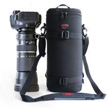 Kalın güçlü telefoto Lens kılıfı çanta Case Tamron & Sigma 150 600mm Nikon 200 500mm 300mm Canon RF800mm F11 Sony 200 600mm