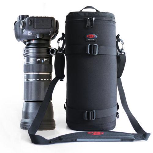 Tamron & sigma를위한 두꺼운 강한 망원 렌즈 주머니 부대 상자 150 600mm Nikon 200 500mm 300mm Canon RF800mm F11 Sony 200 600mm