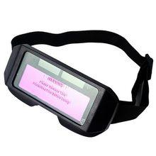 Óculos de soldagem elétrica escurecimento automático óculos de soldagem anti-reflexo óculos de soldagem arco argônio