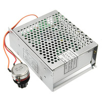 AC 110 220V Power Supply Speed Universal Governor DC Motor Speed Controller for ER11 Chuck CNC 500W Spindle Motor