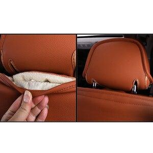 Image 4 - Kokololee de Real Cubierta de Asiento de Cuero de Coche para Audi TT R8 A1 A3 8P 8l Sportback A4 A6 A5 A7 A8 A8l Q3 Q5 Q7 Auto Accesorios