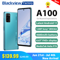 New flagship Blackview A100 6GB+128GB Helio P70 Smartphone 6.67
