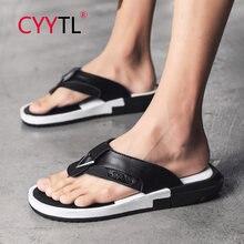 Cyytl/летние мужские модные Вьетнамки; Повседневные стильные