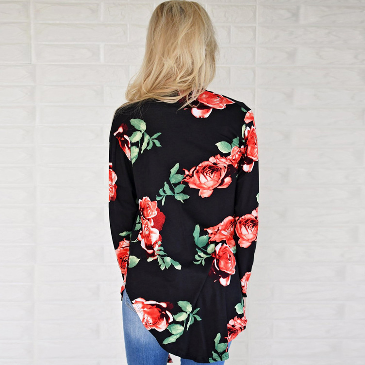 women blouse fashion 2020  female womens top shirt ladies  festivals classics elegance  flower fall autumn clothing top 90s