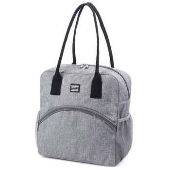 Portable Lunch Bag For Women New Thermal Insulated Lunch Box Tote Cooler Bag Bento Pouches Container Food Picnic Storage Bags oxford thermal lunch bag insulated cooler storage women kids food bento bag portable leisure accessories supply product stuff