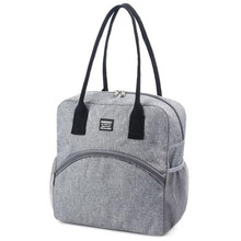 Portable Lunch font b Bag b font For Women New Thermal Insulated Lunch Box Tote font