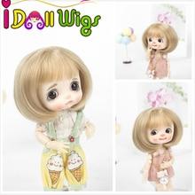 Новинка Muziwig 1/8 BJD& Kurhn кукольный парик из мягкого волокна для куклы диаметром 14-15 см
