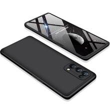 360เคสสำหรับ OPPO Reno 5 Pro 5G กันกระแทกสำหรับ OPPO Reno5 Pro โทรศัพท์กรณี + ฟิล์มแก้วโทรศัพท์