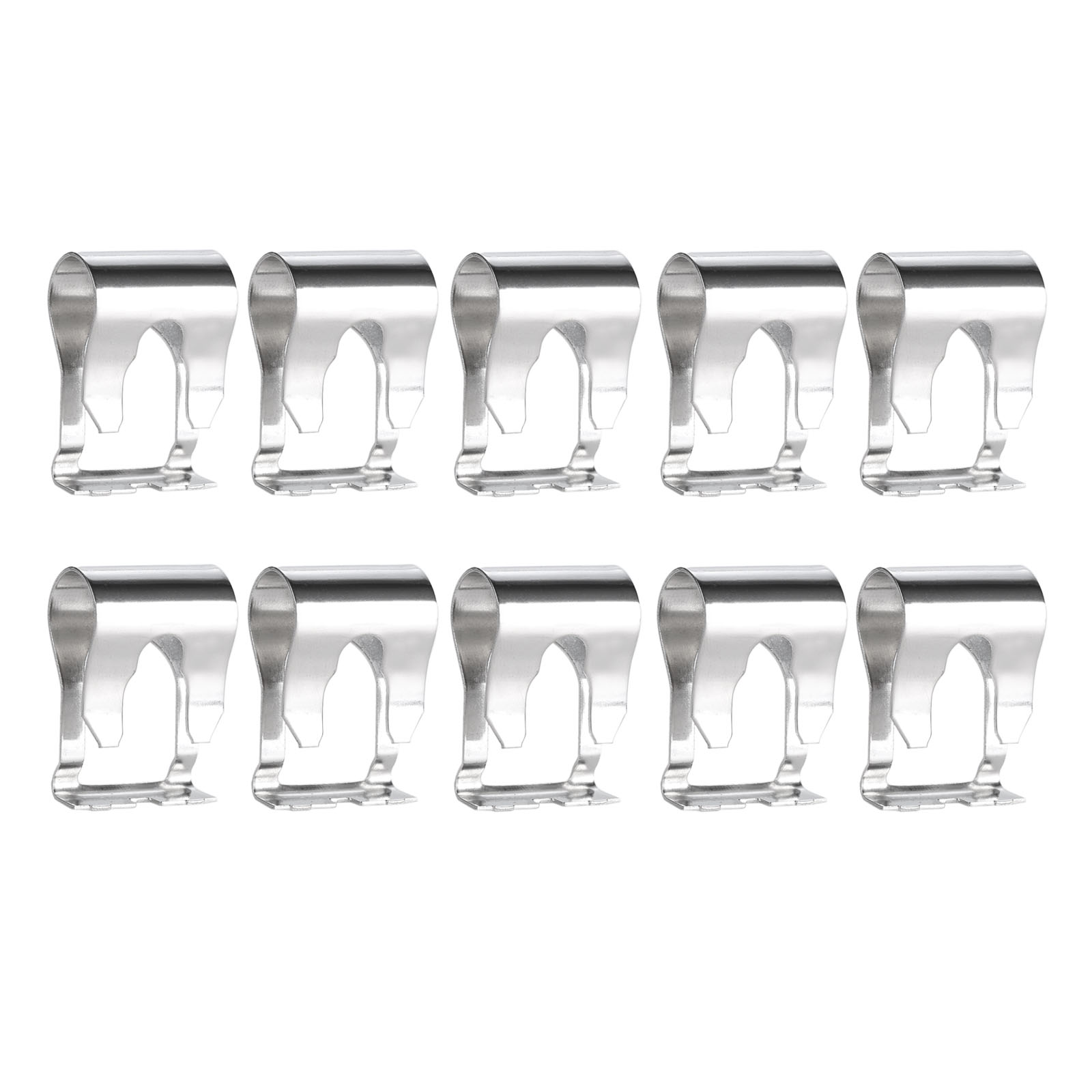 mitsooning 10Pcs Car Windshield Windscreen Wiper Linkage Repair Clips For Auto Spring Repair Clamp Accessories