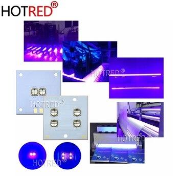20 Вт 40 Вт 80 Вт 120 Вт LG UV фиолетовый светодиодный ультрафиолетовая лампа рассеянного света 365nm 395nm 405nm модуль COB 40*40 медная печатная плата для 3d п...