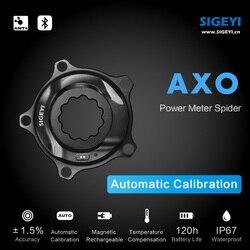 SIGEYI АХО дорожный велосипед Человек-паук Мощность метр подходит SRAM ротора для Shimano 53/39T 52/36T 50/34T заводная головка подходит круглый/Овальная зв...