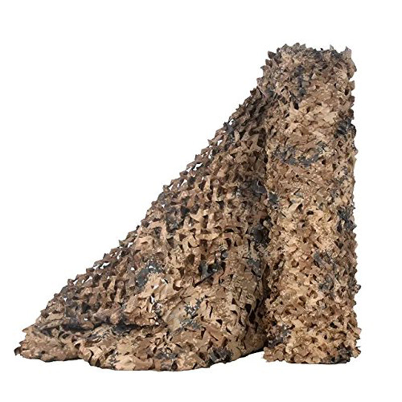 Camo Netting Camouflage Net Blinds Mesh Sun Shelter Sunshade For  Camping Shooting Hunting Desert Military