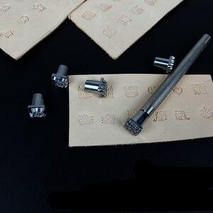 Briefmarken für präge leder werkzeuge handmade diy handwerk Zodiac gras konstellation tier form briefmarken set metall stanzen werkzeug