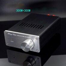 Мини усилитель KYYSLB 2019 SA1 2x300 Вт TAS5630, двухканальный цифровой усилитель мощности класса D, домашний усилитель 24 40 в