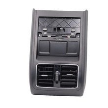 VW Passat B6 B7 CC 용 크롬 후면 공기 배출구 어셈블리