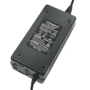 Image 2 - 1 adet en düşük fiyat 54.6V 3A şarj cihazı 54.6v 3A elektrikli bisiklet lityum pil şarj cihazı için 48V lityum pil paketi XLR fiş