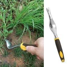 Ручные инструменты для прополки с деревянной ручкой садовые лужайки сельские растения для роста волос бонсай садовые инструменты сорняки Рассыпчатая почва детская вилка