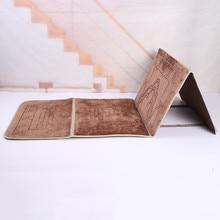 2020 Nuovo Islamico Musulmano Pieghevole Preghiera Zerbino Salat Musallah Preghiera Tappetini Carpet Tapete box di Viaggio Islamico di Preghiera Zerbino 55*110 centimetri