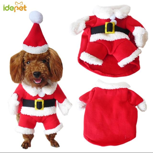 Winter Christmas Cat Costume  2