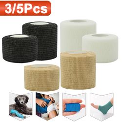 Outdoor Self Adhesive Elastic Bandage Elastoplast First Aid Tool Medical Health Care Treatment Gauze Tape for Knee Support