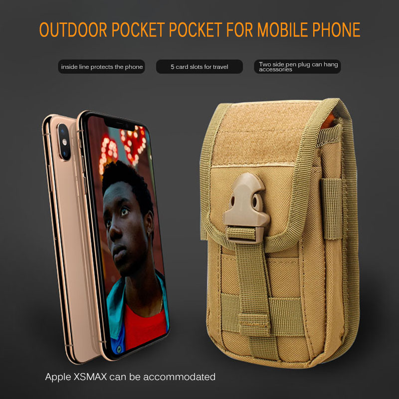 Tactical Pocket Bag Outdoor Pistol Bag Mobile Phone Pouch Camouflage Rifle Carrying Bag 2020 New Arrival Phone Pouch Hunting Bag