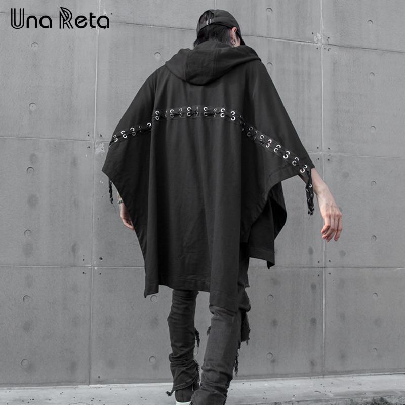 Fashion Fleece altany-zadaszenia.pl Gergeos Mens Irregular Hooded ...