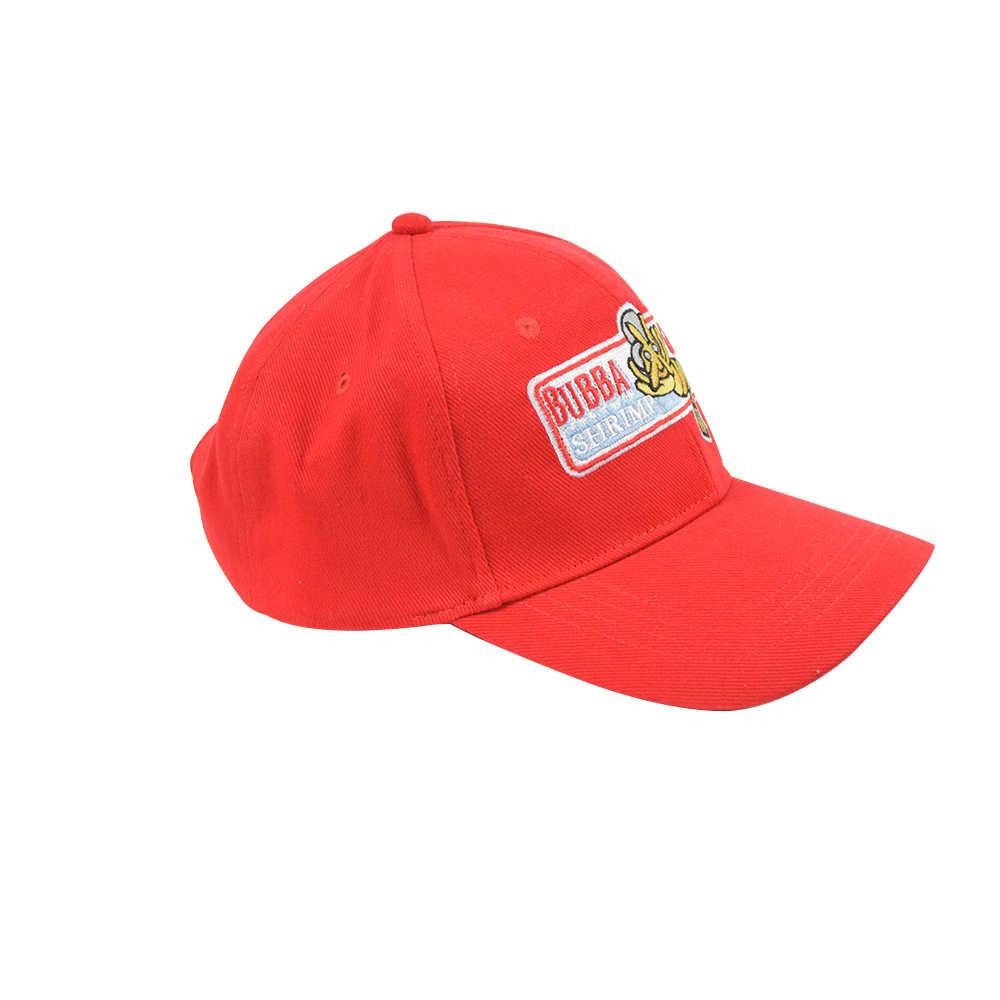 فورست قبعة حمراء بوبا غامب تأثيري قبعة بيسبول قبعة الهيب هوب كاب