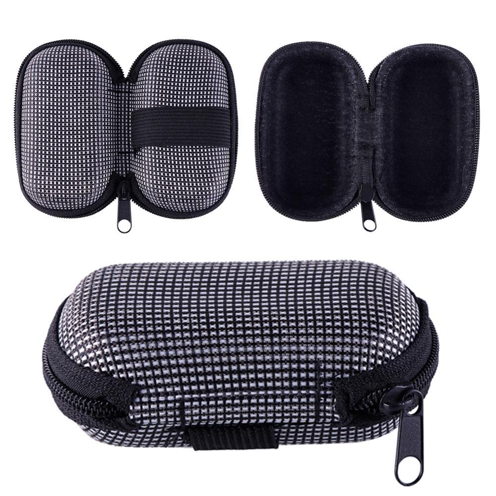 Newly Portable Rectangle Zipper Sunglasses Hard Eye Glasses Box Case Protector