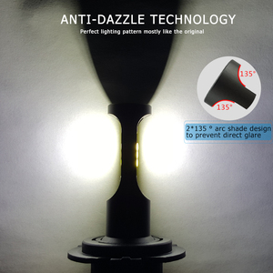 Image 3 - CNSUNNYLIGHT Slim CSP LED Car Headlight Bulbs H4 H7 H11/H8 H1 9005 9006 H13 9004 H27 H3 42W 7000Lm 5500K Auto Headlamp Fog Light