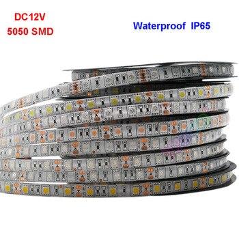 5m 12V 5050 Led Strip light 60led/m RGB/White/Warm white/Red/Green/Blue/Yellow Diode Flexible Led Lamp Tape;DC12V 5A led power 5050 ceramic led 5 8w xml t6 glare flashlight lamp beads white green blue red yellow purple