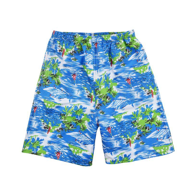 New Summer Casual Shorts Men Printed Beach Shorts Quick Dry Board Shorts Pants 5