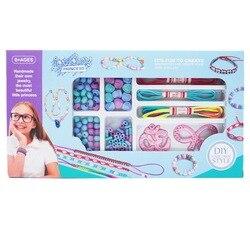 Children Flexible Creative Pop Bead Toy DIY Wear Beads Handmade GIRL'S Bracelets Necklace Bead Toy